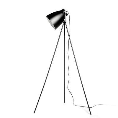 Leuchte Scheinwerfer schwarz ca D:56 x H:135 cm