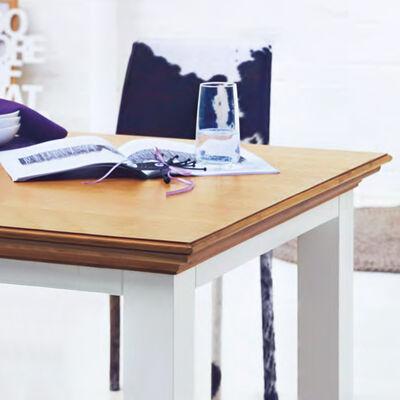 Tisch COUNTRY Holz weiß ca L:180 x B:90 x H:77 cm