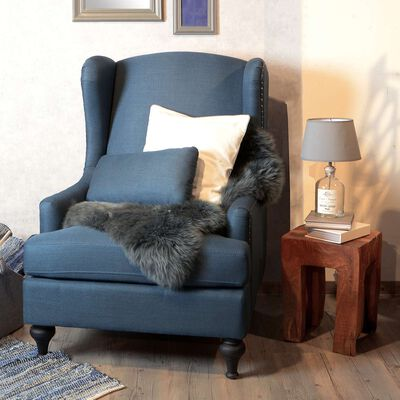Sessel blau ca B:76 x H:106 x T:89 cm (Bezüge: 80% Polyester, 20% Polyurethan)