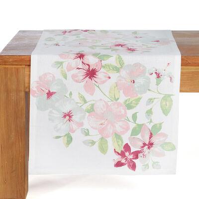 Tischläufer Garden bunt pastell ca B:40 x L:150 cm (100% Baumwolle)