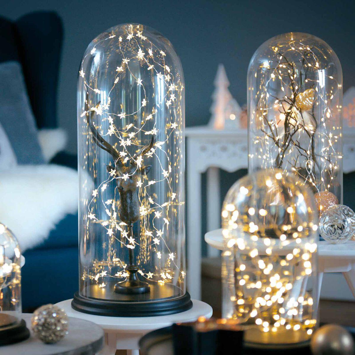 glocke glas klar ca d 14 x h 25 cm depot de. Black Bedroom Furniture Sets. Home Design Ideas