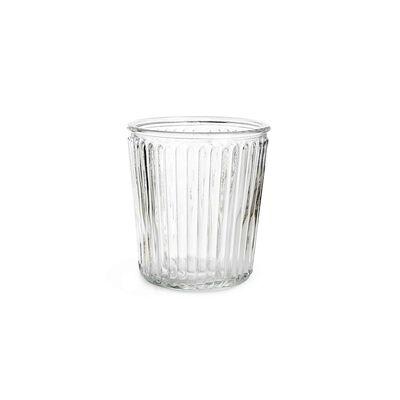 Windlicht Glas klar ca D:14 x H:15 cm