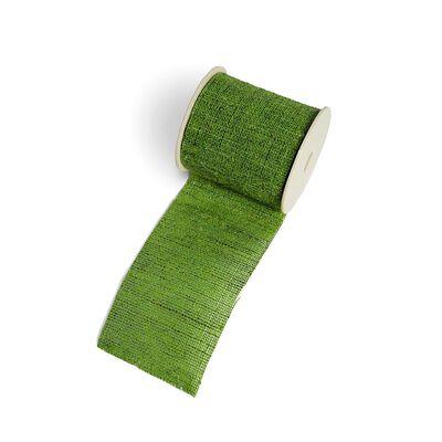 Band Uni grün ca B:6 x L:200 cm