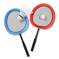 Badminton-Set Jumbo, 4-teilig, bunt