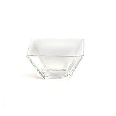 Dipschale Square Glas klar ca L:8 x B:8 x H:4,4 cm