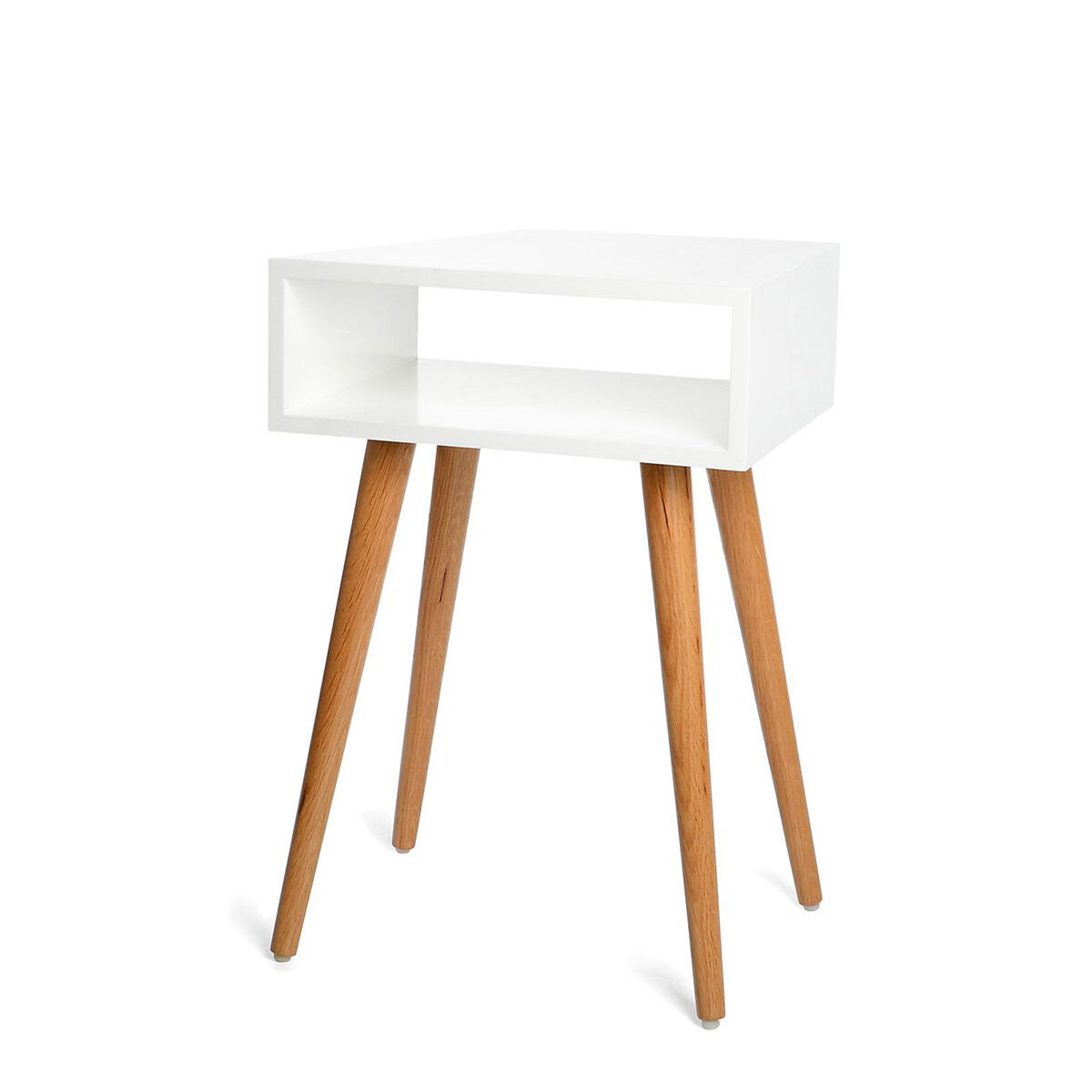 beistelltisch eiche wei ca l 40 x b 30 x h 60 cm depot de. Black Bedroom Furniture Sets. Home Design Ideas