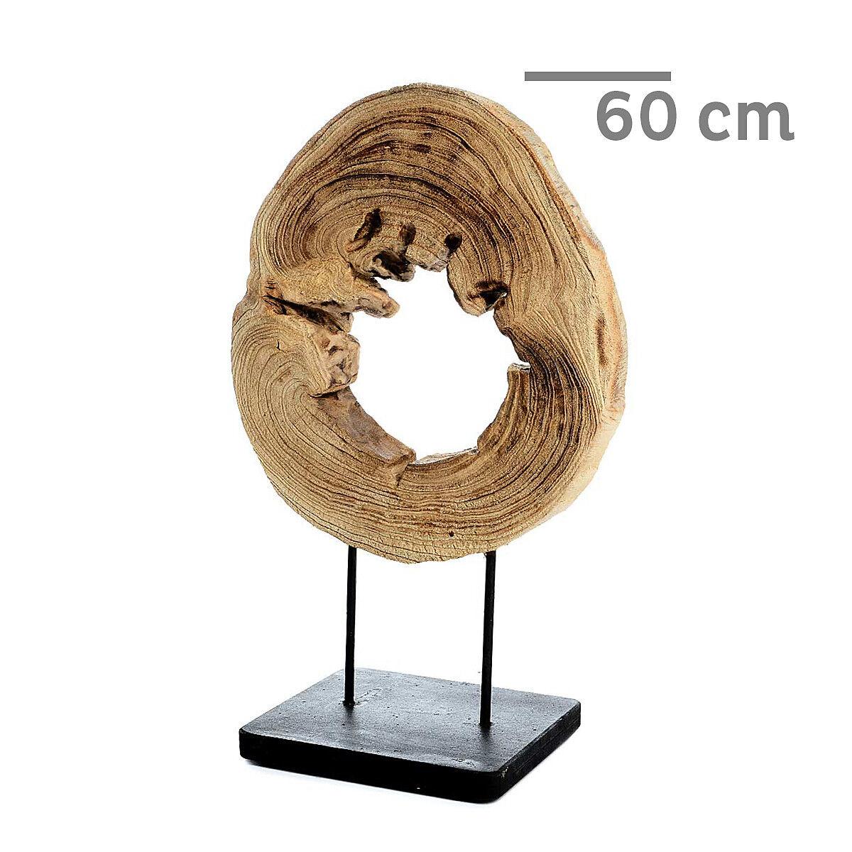 Deko holzscheibe natur ca d 40 x h 60 cm for Holzscheiben deko