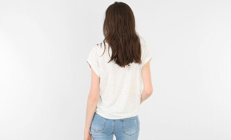 Camiseta fantasía gris