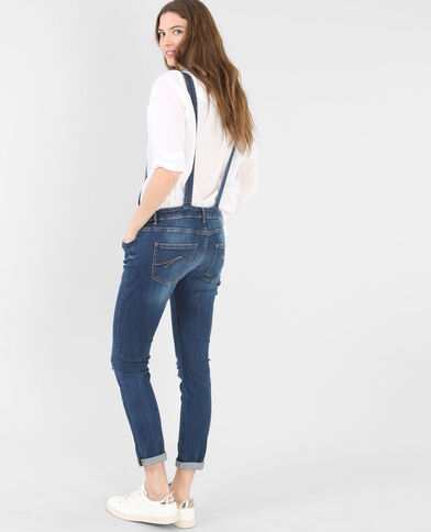 Jeans-Latzhose Blau