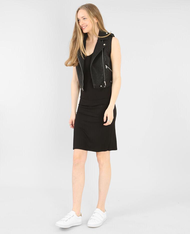 shirt kleid mit v ausschnitt schwarz 781195899a08 pimkie. Black Bedroom Furniture Sets. Home Design Ideas