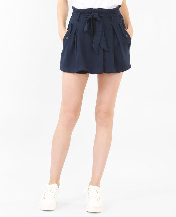 Jupe -short bleu marine