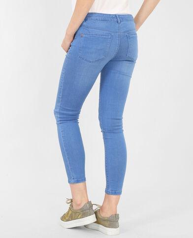 Jeans skinny azul celeste