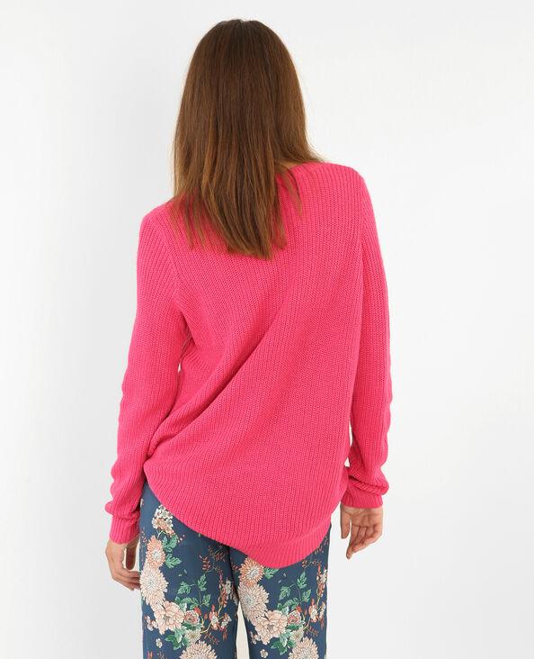 Basic-Pullover Rosa