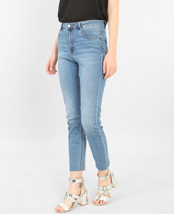 7/8 Skinny jeans blauw