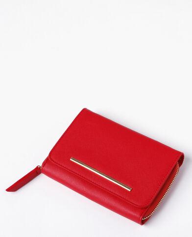 Piccola borsa pochette rosso