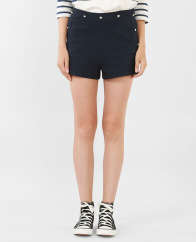 Navy-Shorts Marineblau