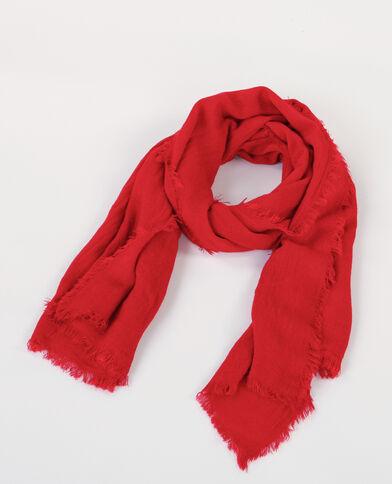 Bufanda fina rojo