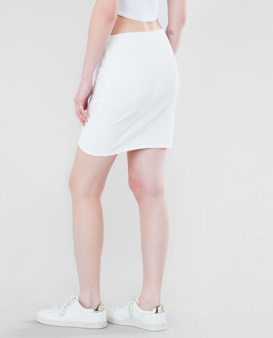Jersey bodycon marfil
