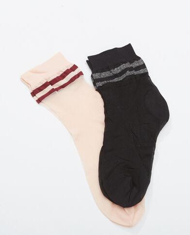 Lote de 2 pares de calcetines negro