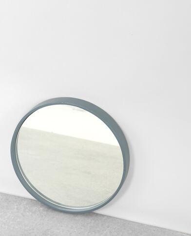 Kleiner Spiegel, rund Aquamarin