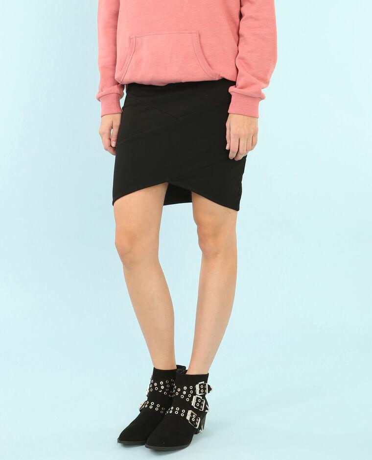 Mini jupe bodycon noir