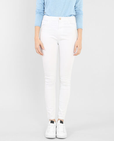 Jegging 7/8 taille haute blanc