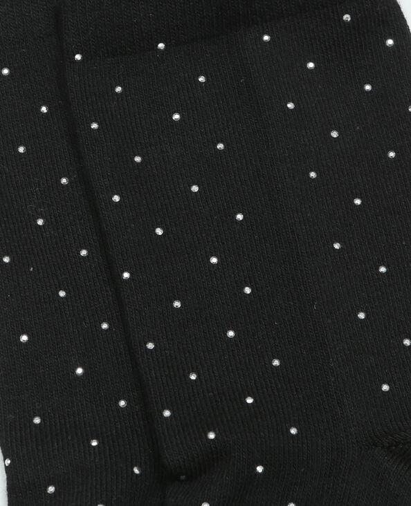 Chaussettes avec clous noir