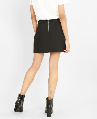 Minifalda-pantalón negro