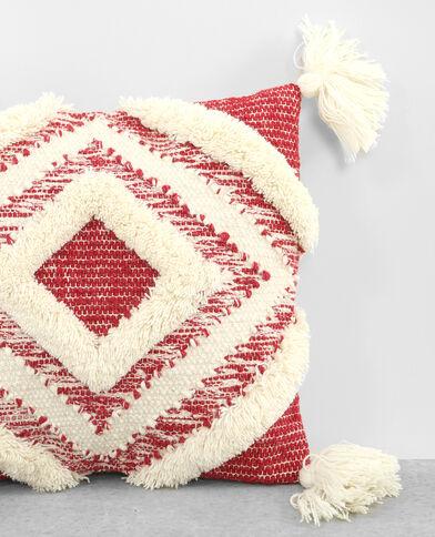 Federa per cuscino in stile berbero Beige