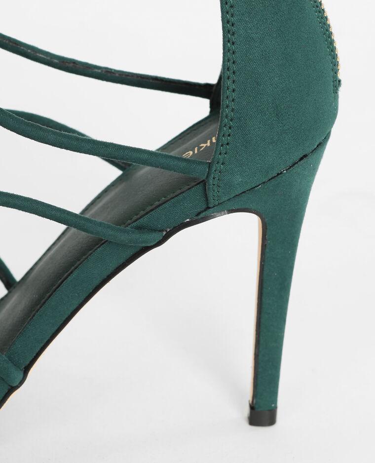 sandaletten mit absatz blau 988062c43a05 pimkie. Black Bedroom Furniture Sets. Home Design Ideas
