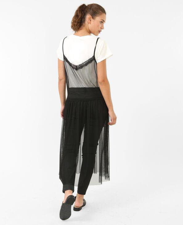 Kleid 2-in1 Schwarz