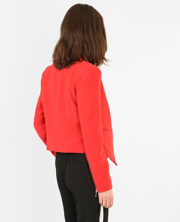 Blazer corto donna Rosso
