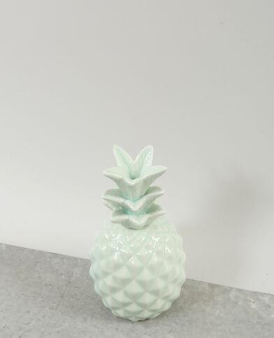 Ananas decorativo kaki