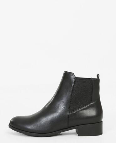 Boots chelsea lurex nero