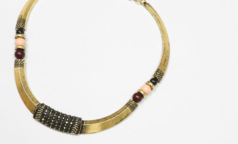 Choker-Halskette Rosa