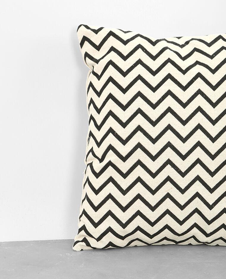housse de coussin zigzag blanc 902249912k0e pimkie. Black Bedroom Furniture Sets. Home Design Ideas