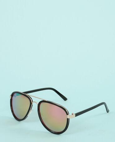 Gafas de sol aviador negro