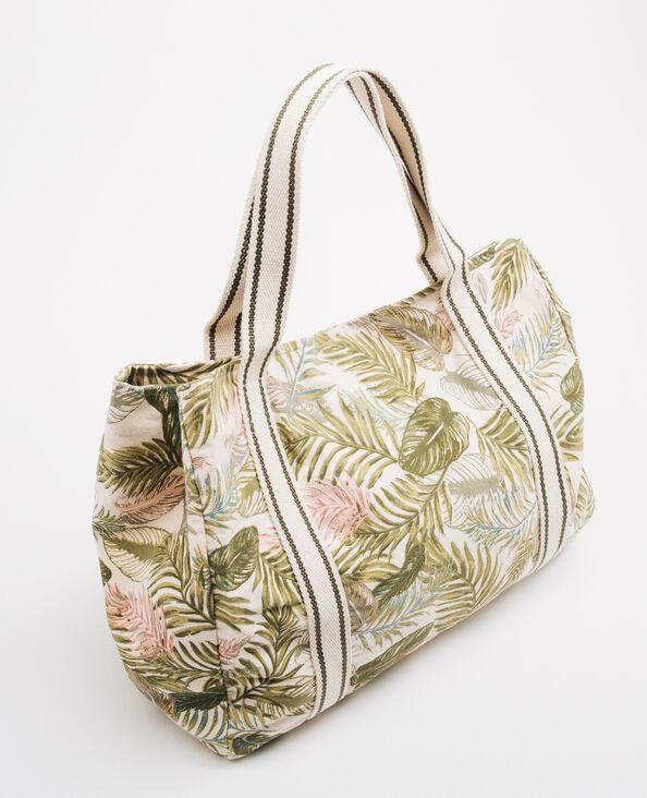 Große Shopper-Tasche Grün