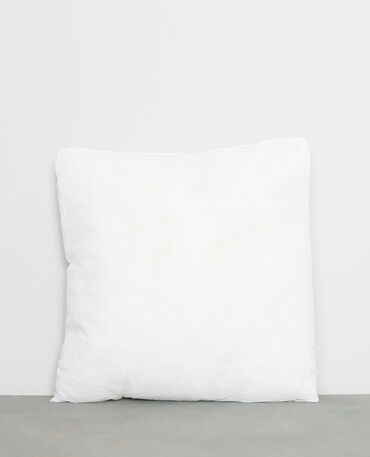 Cuscino da rivestire bianco