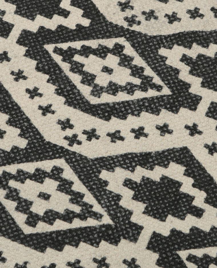 Bedruckter baumwollteppich schwarz 902876899i09 pimkie - Baumwollteppich schwarz weiay ...