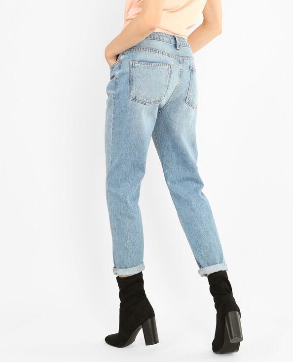 Jeans mum azul