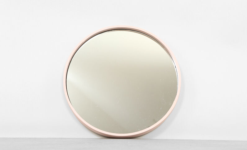Miroir mural pimkie for Miroir rond grand