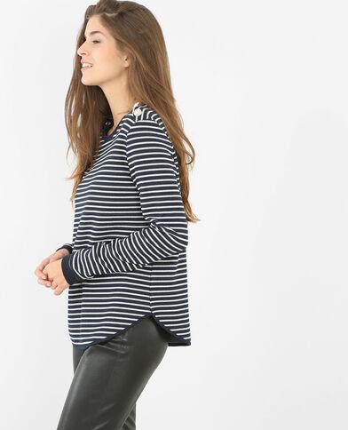 Sweatshirt in Marineblau Marineblau