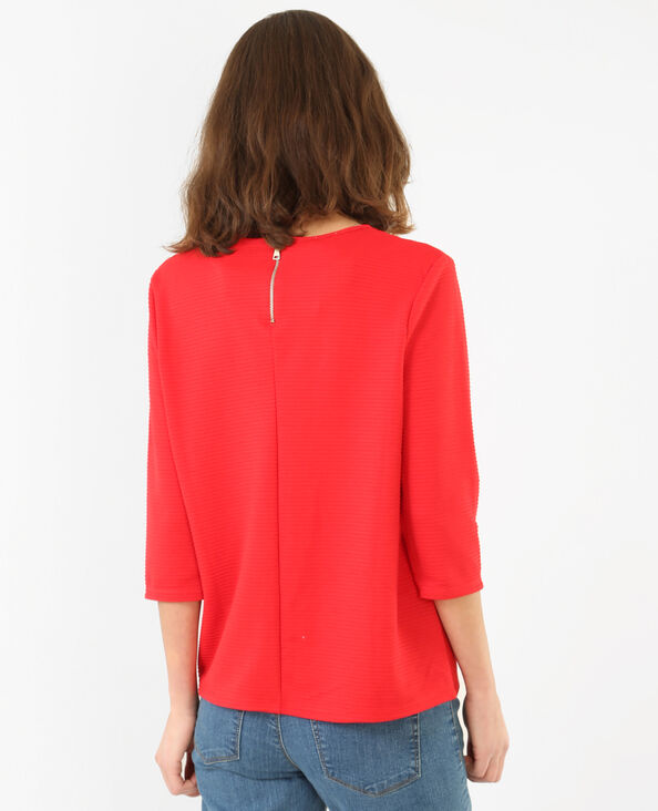 T-shirt ottoman Rosso