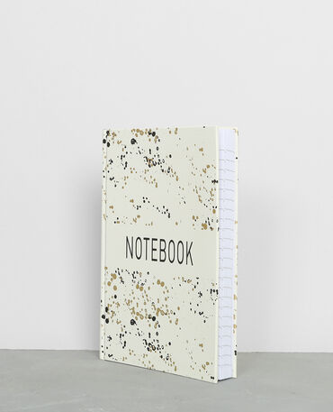 Notebook moucheté écru