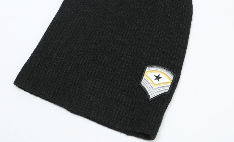 Beanie army noir