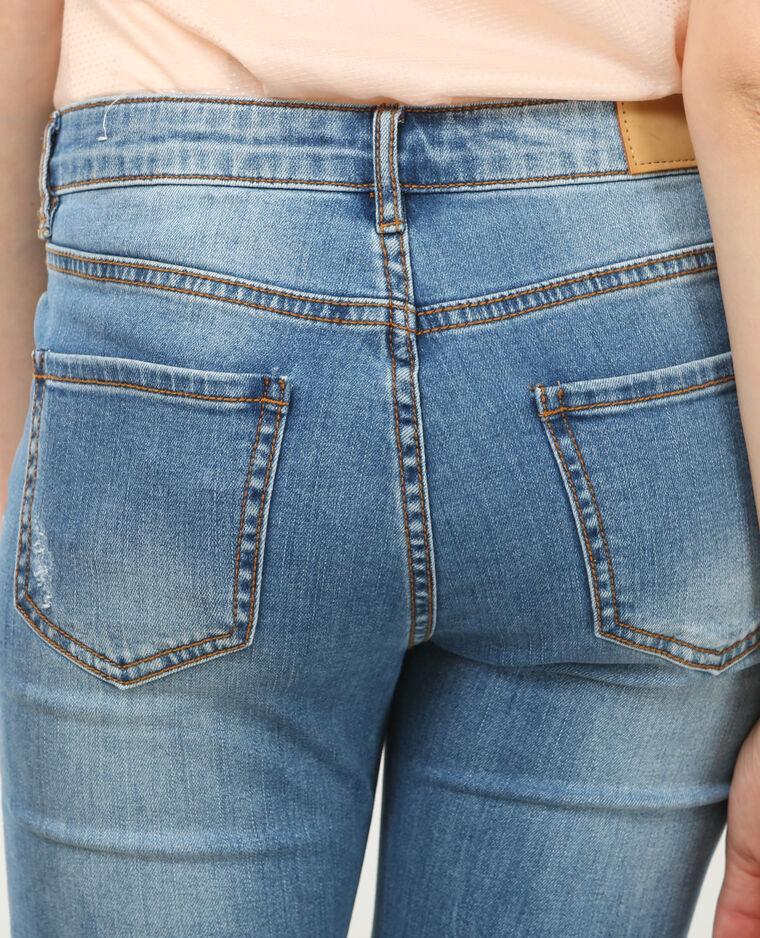 skinny jeans mit rei verschluss denimblau 40 186105683a06 pimkie. Black Bedroom Furniture Sets. Home Design Ideas