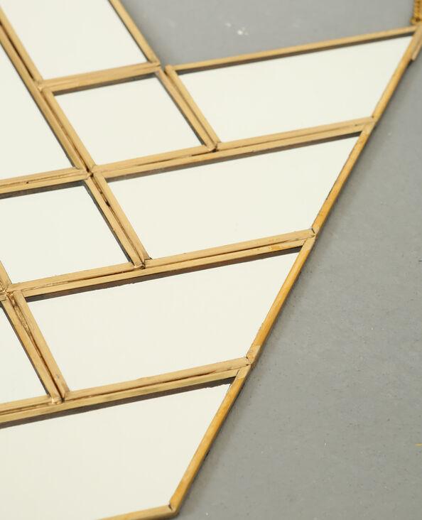 Spiegel pijl goudkleurig