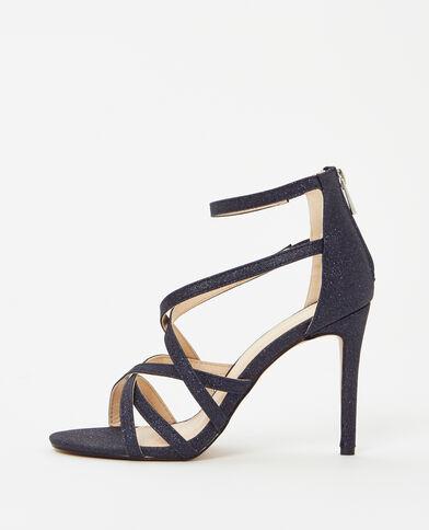 Sandali con tacchi a spillo blu