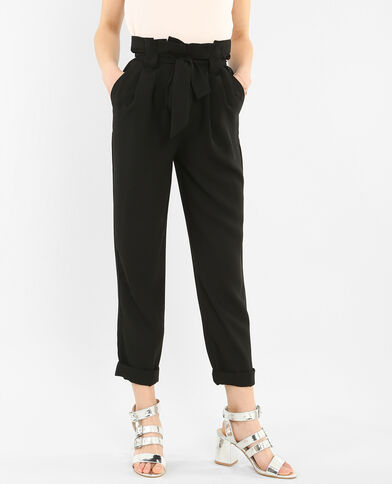 Pantalon fluide noir